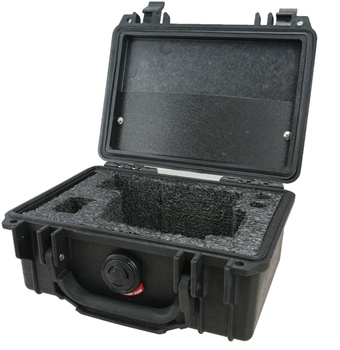 Hard Carrying Case custom designed for the Thermal-Eye X-200 pocket scope