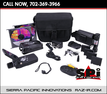 The RAZ-IR Thermal Camera Kit